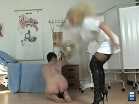 Sadistic Nurse: Dressed as the most sexual nurse I've ever saw, Sadista, however, is the most Ruthless and Cruel Mistress in UK. She loves to train all inferior beings on her own way.