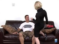 Married Traitress: At first, Lady T asked Bob to pleasure her orally and lifted her skirt up letting him enjoy the view of her gorgeous ass and perfect married pussy.