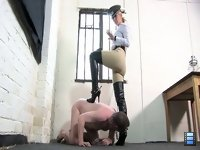 Belted And Booted: Inexperienced slaves require constant attention and training. Don't neglect your Mistress duties or you may spoil your pet.